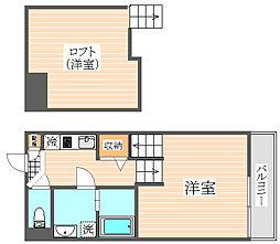 Agio House(アジオハウス)[1階]の間取り