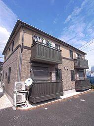 埼玉県ふじみ野市大井の賃貸アパートの外観