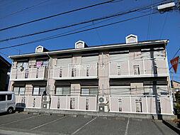 埼玉県北足立郡伊奈町栄6丁目の賃貸アパートの外観