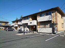埼玉県北本市本宿5丁目の賃貸アパートの外観