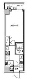 B CITY APARTMENT TOKYO NORTH[202号室]の間取り