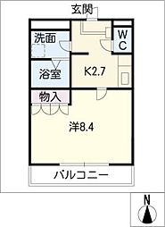 SK flat 2nd[1階]の間取り