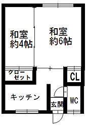 【敷金礼金0円!】月岩マンション