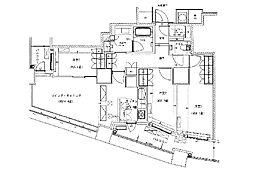 ザ・パークハウス西新宿60[24階]の間取り