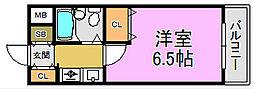 アルトシュタット[4階]の間取り