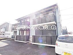 神奈川県相模原市南区東大沼3の賃貸アパートの外観