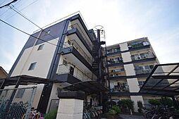 大阪府柏原市古町2丁目の賃貸マンションの外観