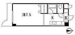 サニーピア弥永[303号室]の間取り