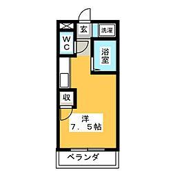 KOWA石原[2階]の間取り