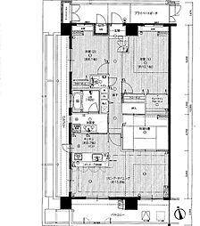 ルミナス上幟町エクセレール[11階]の間取り