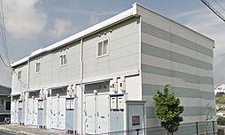 広島県福山市久松台1丁目の賃貸アパートの外観