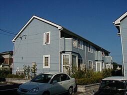 福岡県北九州市若松区青葉台南2丁目の賃貸アパートの外観