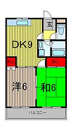 グローガーデンII[1階]の間取り