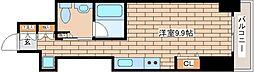 兵庫県神戸市中央区磯上通3の賃貸マンションの間取り