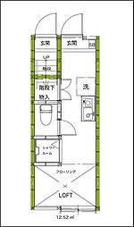 サークルハウス新中野壱番館[1階]の間取り