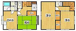 [一戸建] 神奈川県小田原市穴部 の賃貸【/】の間取り