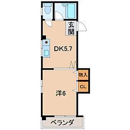 マツイビル[2階]の間取り
