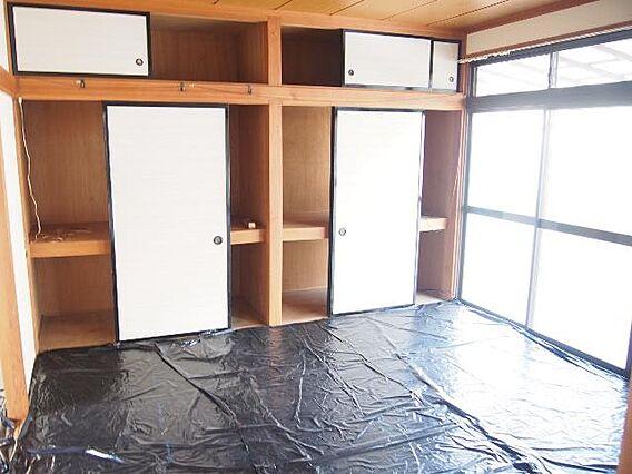 和室です。押入...