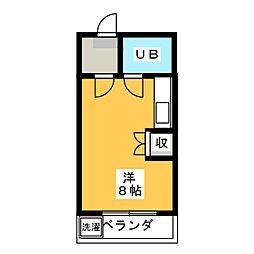 メゾン池田[2階]の間取り