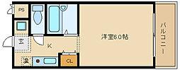 プログレス小山[2階]の間取り