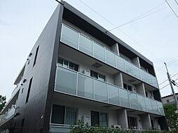 東京都新宿区中落合の賃貸マンションの外観