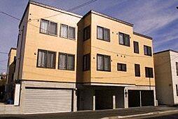 北海道札幌市中央区南二十四条西8丁目の賃貸アパートの外観