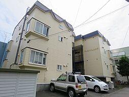北海道札幌市西区山の手五条1丁目の賃貸アパートの外観