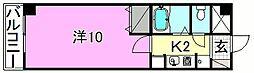 ベルメゾン福音寺[211 号室号室]の間取り