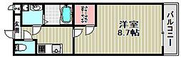 フジパレス今池[1階]の間取り