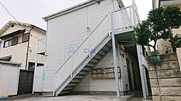 東京都板橋区赤塚2丁目の賃貸アパートの外観