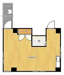 第一東和ビル[4階]の間取り