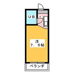 ラトゥール御替地[2階]の間取り