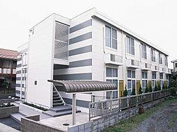 埼玉県川口市南鳩ヶ谷7の賃貸アパートの外観
