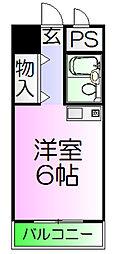 メゾンエルム[7階]の間取り
