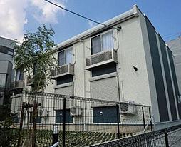 愛知県名古屋市瑞穂区弥富町月見ケ岡の賃貸アパートの外観