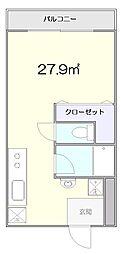 ステラハイム富ヶ谷[3階]の間取り