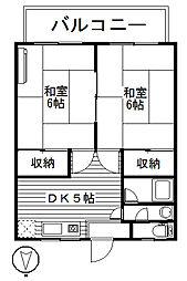 町田ハイツ[1階]の間取り