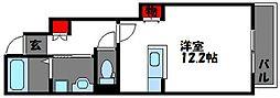 コンフォート香椎[1階]の間取り