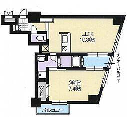 アーバンテラス新大阪[9階]の間取り