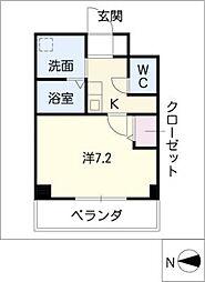 K's house 玉の井[10階]の間取り