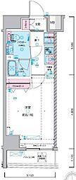 JR総武線 浅草橋駅 徒歩5分の賃貸マンション 4階1Kの間取り