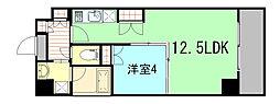サニーコート[8階]の間取り