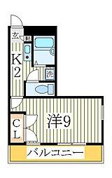 フルール南青山[1階]の間取り