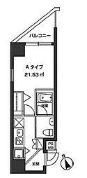 レジディア虎ノ門[7階]の間取り