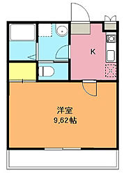 埼玉県上尾市宮本町の賃貸マンションの間取り