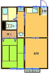 スコッチハウス[105号室]の間取り