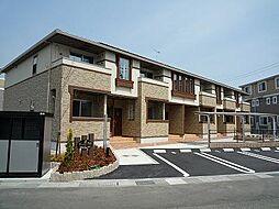 広島県東広島市高屋町桧山の賃貸アパートの外観