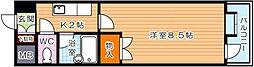 コンドミニアム穴生駅前[7階]の間取り