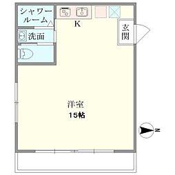 太平ビル[2階]の間取り