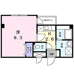 ステラ上の原Ⅱ[2階]の間取り